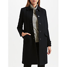 Buy John Lewis Single Breasted Long Coat Online at johnlewis.com