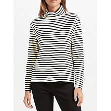 Buy John Lewis Stripe Turtle Neck Top Online at johnlewis.com