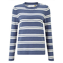 Buy Collection WEEKEND by John Lewis Stripe Sweater, Blue/White Online at johnlewis.com