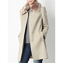 Buy John Lewis Jenny Faux Fur Collar Coat Online at johnlewis.com