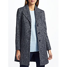 Buy John Lewis Single Breasted Revere Collar Coat Online at johnlewis.com
