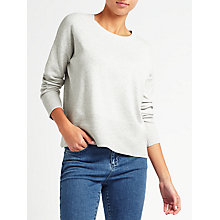 Buy John Lewis Ripple Hem Jumper Online at johnlewis.com