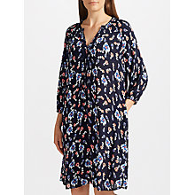 Buy Collection WEEKEND by John Lewis Pansy Bloom Dress, Navy/Multi Online at johnlewis.com