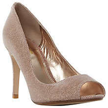Buy Dune Wide Fit Dinaa Peep Toe Stiletto Sandals Online at johnlewis.com