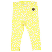 Buy Polarn O. Pyret Baby Floral Leggings, Yellow Online at johnlewis.com