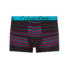 Buy Calvin Klein ID Stripe Trunks, Multi Online at johnlewis.com