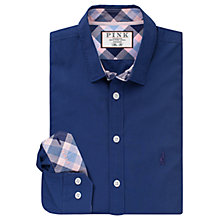 Buy Thomas Pink Parry Slim Fit Shirt, Navy/Blue Online at johnlewis.com