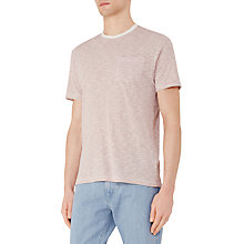 Buy Reiss Braga Stripe Pocket T-Shirt Online at johnlewis.com