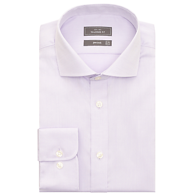 Image of John Lewis & Partners Non Iron Twill Tailored Fit Shirt
