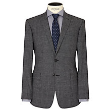 Buy Richard James Mayfair Jaspe Check Wool Slim Suit Jacket, Grey Online at johnlewis.com
