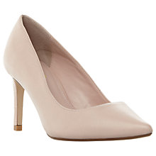 Buy Dune Wide Fit Abbigail Stiletto Heeled Court Shoes, Pink Online at johnlewis.com