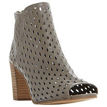 Buy Dune Iola Cut Out Peep Toe Shoe Boots Online at johnlewis.com
