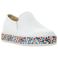 Buy Dune Exchange Casual Slip On Trainers Online at johnlewis.com