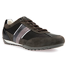 Buy Geox Wells Trainers, Black Online at johnlewis.com