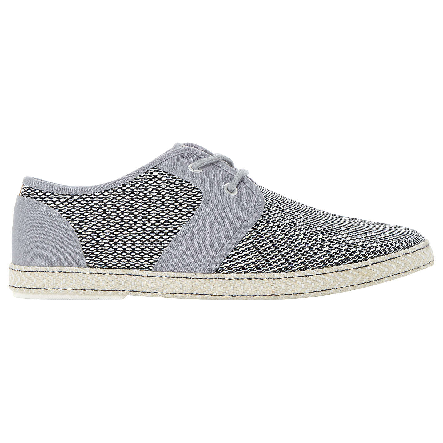 BuyDune Fennton Lace-Up Shoes, Grey, 7 Online at johnlewis.com