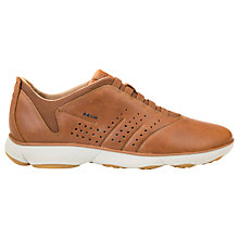 Buy Geox Nebula Trainers, Cognac Online at johnlewis.com