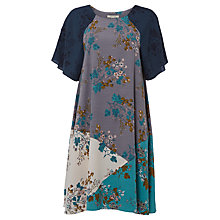 Buy White Stuff Artist Mark Dress, Grey Online at johnlewis.com