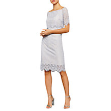 Buy Coast Marsha Lace Dress, Silver Online at johnlewis.com