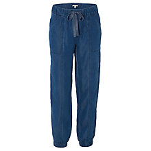 Buy White Stuff Tencel Joggers, Mid Denim Online at johnlewis.com