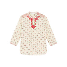 Buy Gerard Darel Chiara Blouse, Red/Multi Online at johnlewis.com