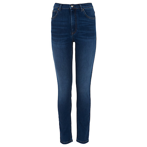Buy Whistles Mid Wash Skinny Jeans Online at johnlewis.com