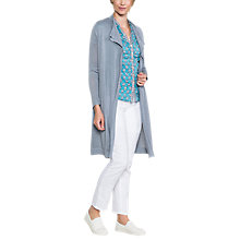 Buy East Drape Front Cardigan Online at johnlewis.com