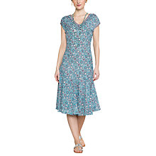 Buy East Anokhi Yasmin Print Dress, Capri Online at johnlewis.com