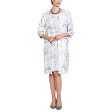 Buy East Delphine Print Coat, Pearl Online at johnlewis.com