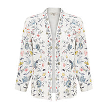 Buy East Lavina Embroidered Jacket, Pearl Beige Online at johnlewis.com