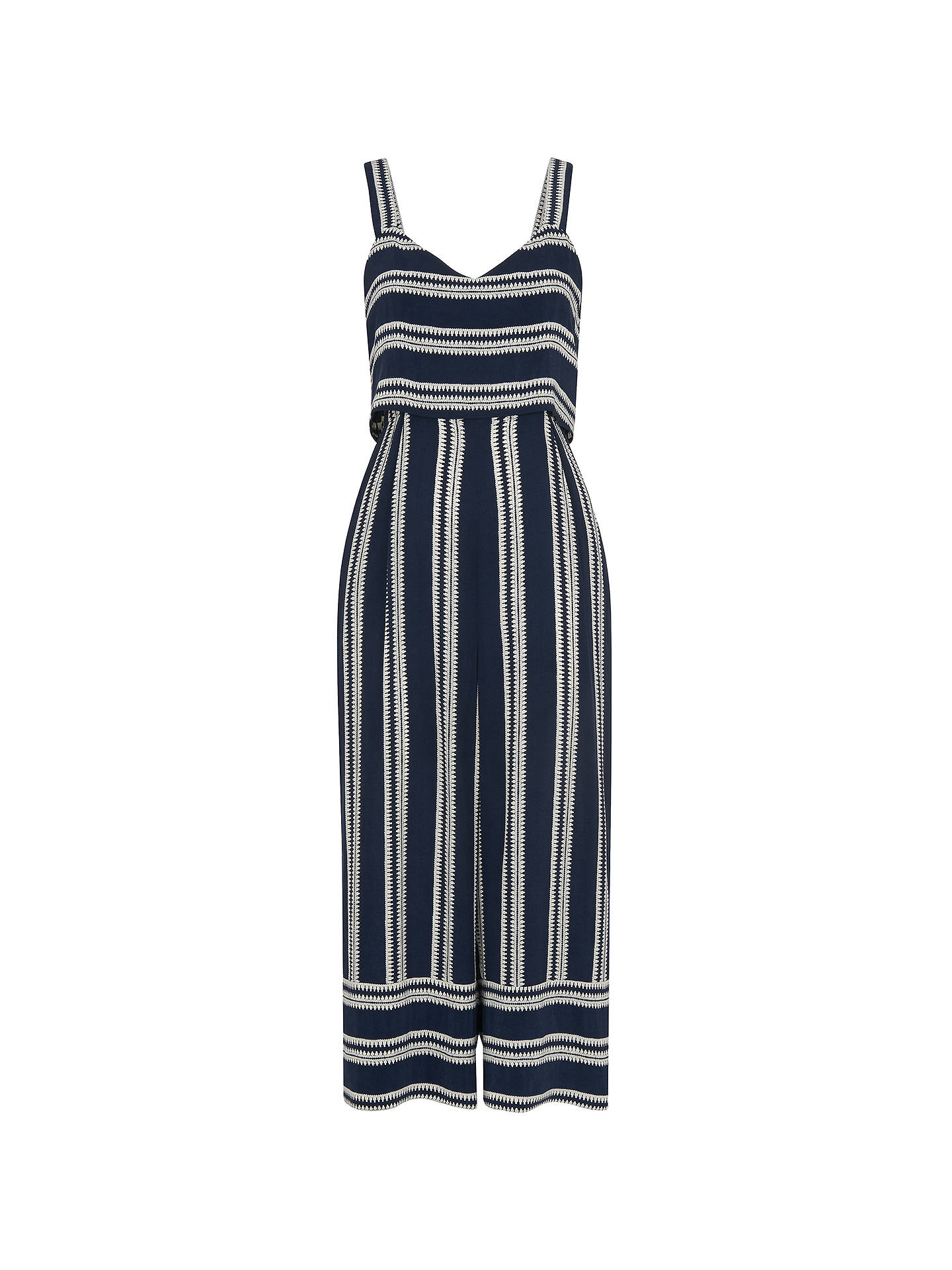 8478dfa05b3 ... Buy Whistles Lucy Striped Strappy Tiered Jumpsuit