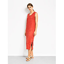 Buy hush Solana Dress, Washed Red Online at johnlewis.com