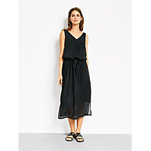 Buy hush Rosalind Dress, Black Online at johnlewis.com