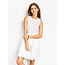 Buy hush Loren Embroidered Dress, White Online at johnlewis.com