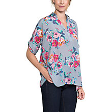 Buy East Valentina Oversized Silk Shirt, Dove Online at johnlewis.com