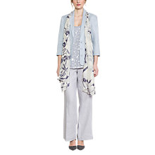Buy East Linen Victoire Jacket, Dove Online at johnlewis.com