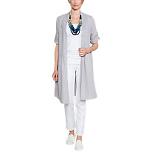 Buy East Linen Antoinette Pintuck Dress, Limestone Online at johnlewis.com