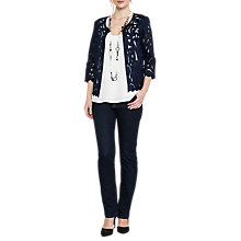 Buy East Lace Jacket, Navy Online at johnlewis.com