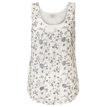 Buy East Amina Embroidered Vest, Pearl Online at johnlewis.com
