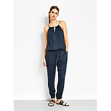 Buy hush Noosa Jumpsuit, Navy Online at johnlewis.com