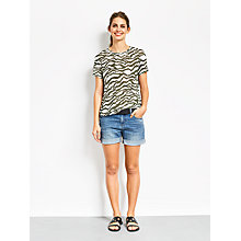 Buy hush Animal Print T-Shirt, Multi Online at johnlewis.com