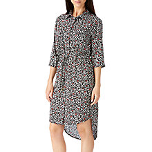 Buy Sugarhill Boutique Rayna Shirt Dress, Black/Pink Online at johnlewis.com