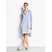 Buy hush Soho Stripe Tunic, White/Blue Online at johnlewis.com