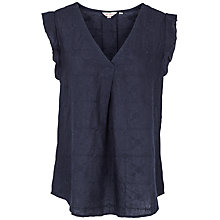 Buy Fat Face Jodie Embroidered Blouse Online at johnlewis.com