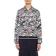 Buy Ted Baker Colour By Numbers Toledy Zip Front Bomber Jacket, Grey Online at johnlewis.com