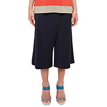 Buy Ted Baker Colour By Numbers Rayon Crossover Culottes, Navy Online at johnlewis.com