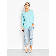 Buy hush Linen Boyfriend Jumper Online at johnlewis.com