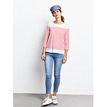 Buy hush Zoe Striped T-Shirt Online at johnlewis.com