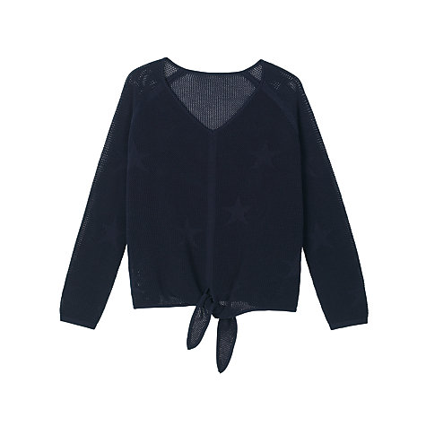 Buy hush Salute Tie Knit Star Jumper, Salute Online at johnlewis.com