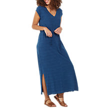 Buy Fat Face T-Shirt Maxi Dress, Indigo Online at johnlewis.com