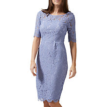Buy Sugarhill Boutique Grace Lace Dress, Lilac Online at johnlewis.com